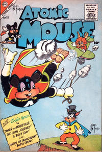 Cover Thumbnail for Atomic Mouse (Charlton, 1953 series) #19