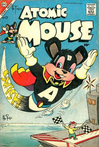 Cover for Atomic Mouse (Charlton, 1953 series) #23