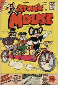 Cover Thumbnail for Atomic Mouse (Charlton, 1953 series) #32