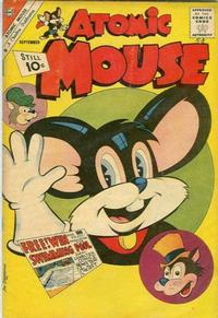 Cover Thumbnail for Atomic Mouse (Charlton, 1953 series) #44