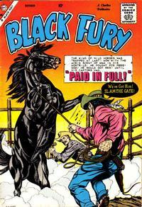 Cover Thumbnail for Black Fury (Charlton, 1955 series) #21