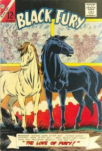 Cover Thumbnail for Black Fury (Charlton, 1955 series) #54