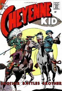 Cover Thumbnail for Cheyenne Kid (Charlton, 1957 series) #9