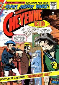 Cover Thumbnail for Cheyenne Kid (Charlton, 1957 series) #17