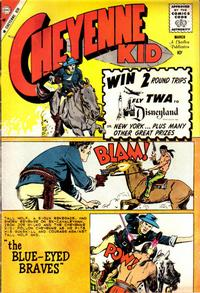 Cover for Cheyenne Kid (Charlton, 1957 series) #21