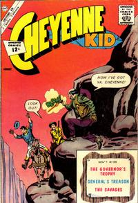 Cover Thumbnail for Cheyenne Kid (Charlton, 1957 series) #35