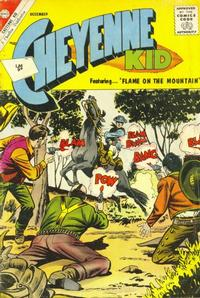 Cover Thumbnail for Cheyenne Kid (Charlton, 1957 series) #37