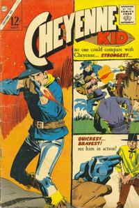 Cover Thumbnail for Cheyenne Kid (Charlton, 1957 series) #51