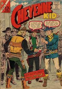 Cover Thumbnail for Cheyenne Kid (Charlton, 1957 series) #52