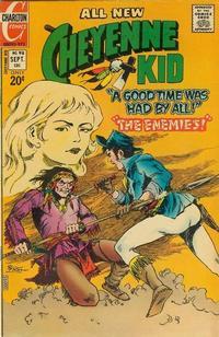 Cover Thumbnail for Cheyenne Kid (Charlton, 1957 series) #98