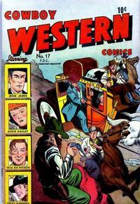 Cover Thumbnail for Cowboy Western Comics (Charlton, 1948 series) #17