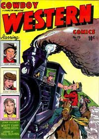 Cover Thumbnail for Cowboy Western Comics (Charlton, 1948 series) #19