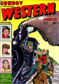 Cover Thumbnail for Cowboy Western Comics (Charlton, 1948 series) #19