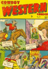Cover Thumbnail for Cowboy Western Comics (Charlton, 1948 series) #20