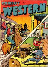 Cover Thumbnail for Cowboy Western Comics (Charlton, 1948 series) #23
