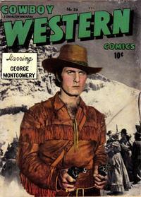 Cover Thumbnail for Cowboy Western Comics (Charlton, 1948 series) #26