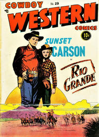Cover Thumbnail for Cowboy Western Comics (Charlton, 1948 series) #29