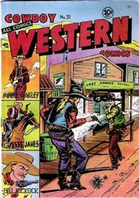 Cover Thumbnail for Cowboy Western Comics (Charlton, 1948 series) #31