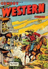 Cover Thumbnail for Cowboy Western Comics (Charlton, 1948 series) #32