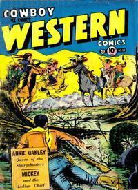 Cover Thumbnail for Cowboy Western Comics (Charlton, 1948 series) #39