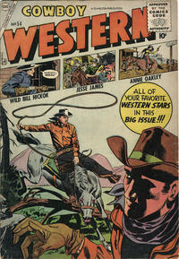 Cover Thumbnail for Cowboy Western (Charlton, 1954 series) #54