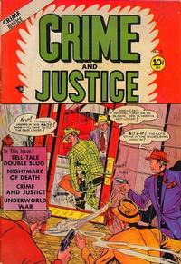 Cover Thumbnail for Crime and Justice (Charlton, 1951 series) #3