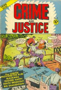 Cover Thumbnail for Crime and Justice (Charlton, 1951 series) #4