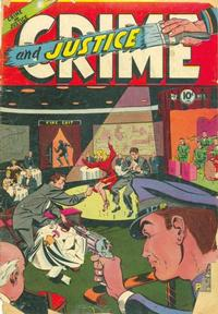 Cover Thumbnail for Crime and Justice (Charlton, 1951 series) #6
