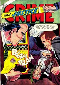 Cover Thumbnail for Crime and Justice (Charlton, 1951 series) #7