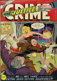 Cover Thumbnail for Crime and Justice (Charlton, 1951 series) #10