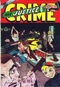 Cover Thumbnail for Crime and Justice (Charlton, 1951 series) #11