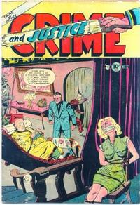 Cover Thumbnail for Crime and Justice (Charlton, 1951 series) #12