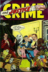 Cover Thumbnail for Crime and Justice (Charlton, 1951 series) #14