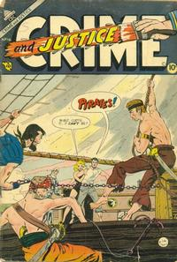 Cover Thumbnail for Crime and Justice (Charlton, 1951 series) #16