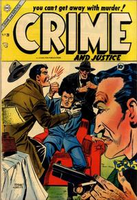 Cover Thumbnail for Crime and Justice (Charlton, 1951 series) #20