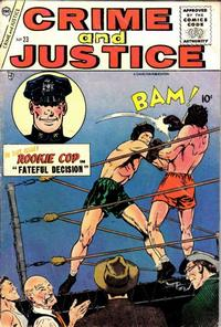 Cover Thumbnail for Crime and Justice (Charlton, 1951 series) #23