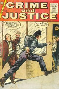Cover Thumbnail for Crime and Justice (Charlton, 1951 series) #24