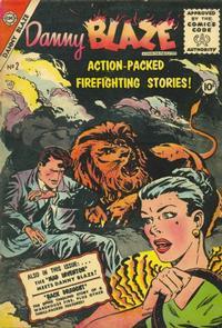 Cover Thumbnail for Danny Blaze (Charlton, 1955 series) #2