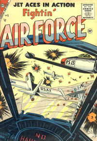 Cover Thumbnail for Fightin' Air Force (Charlton, 1956 series) #5