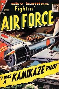 Cover Thumbnail for Fightin' Air Force (Charlton, 1956 series) #10