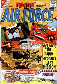 Cover Thumbnail for Fightin' Air Force (Charlton, 1956 series) #25