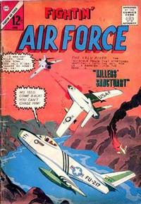 Cover Thumbnail for Fightin' Air Force (Charlton, 1956 series) #44