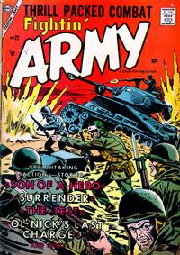 Cover Thumbnail for Fightin' Army (Charlton, 1956 series) #22