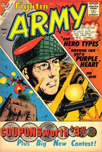 Cover Thumbnail for Fightin' Army (Charlton, 1956 series) #40