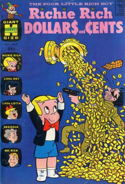 Cover for Richie Rich Dollars and Cents (Harvey, 1963 series) #2