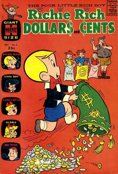 Cover for Richie Rich Dollars and Cents (Harvey, 1963 series) #5