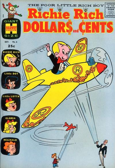 Cover for Richie Rich Dollars and Cents (Harvey, 1963 series) #6
