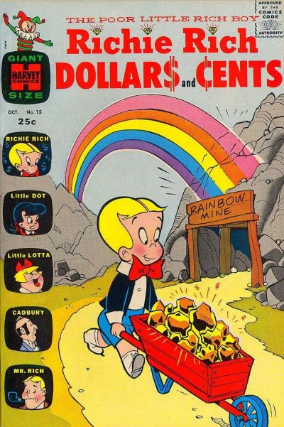 Cover for Richie Rich Dollars and Cents (Harvey, 1963 series) #15