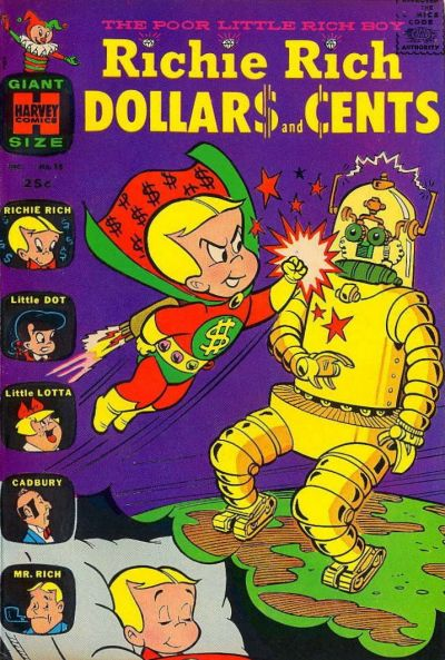 Cover for Richie Rich Dollars and Cents (Harvey, 1963 series) #16