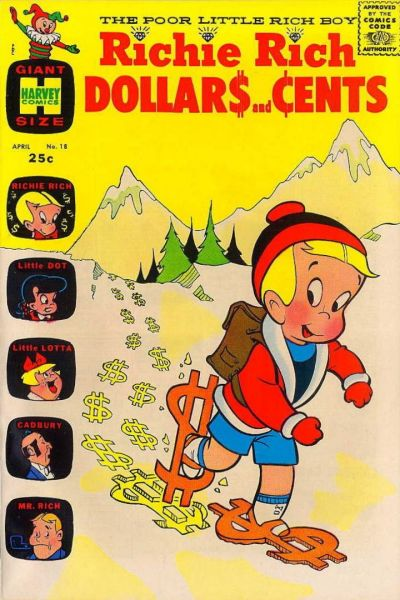 Cover for Richie Rich Dollars and Cents (Harvey, 1963 series) #18